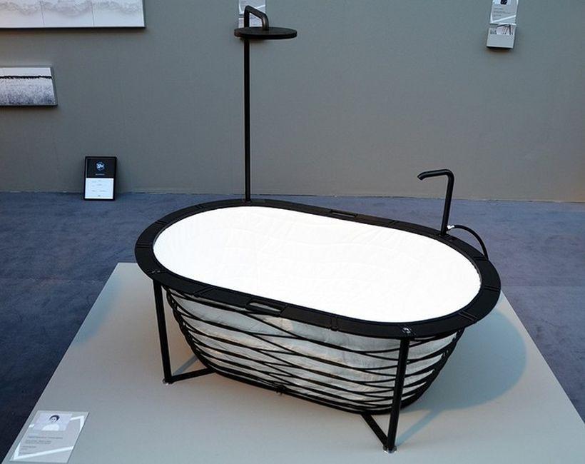XTEND bathtub: Раскладная ванна, которая всегда с тобой