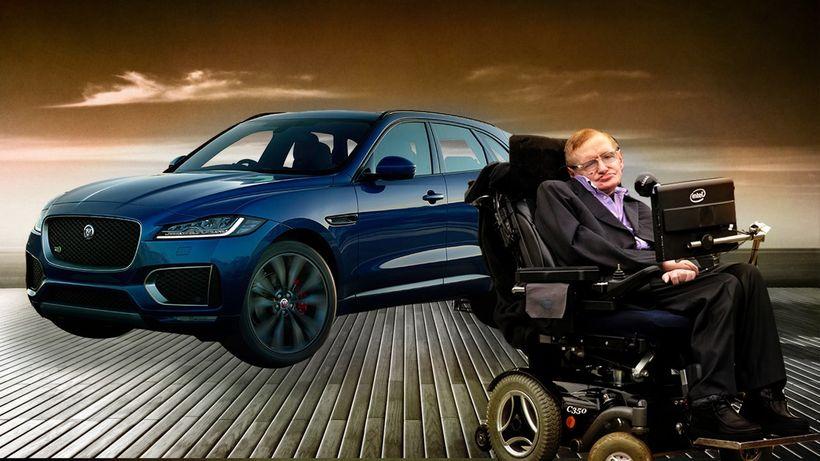 Стивен Хокинг сыграл злодея в рекламном ролике Jaguar