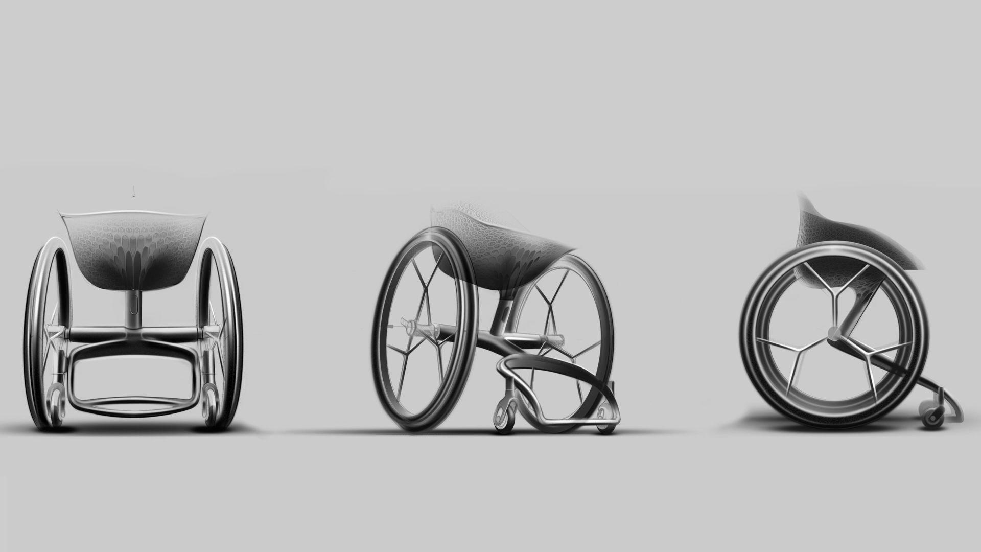 Первое в мире инвалидное кресло, изготовленное на 3D-принтере