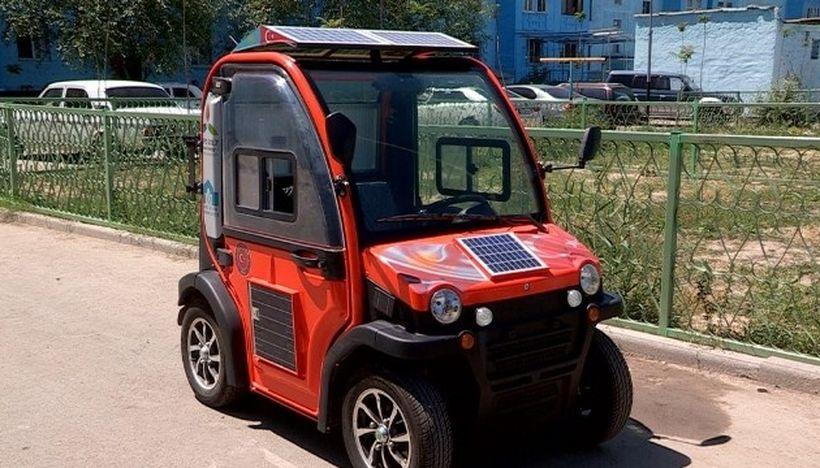 В Казахстане презентовали электромобиль за 200$
