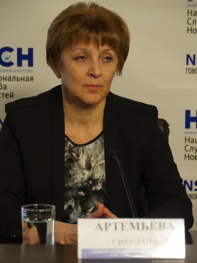 Светлана Артемьева, зав.отделением НИИ педиатрии