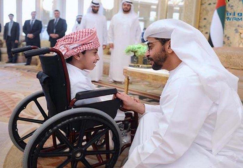 """В ОАЭ отказываются от слова """"инвалид"""", заменяя его термином """"мужественный человек"""""""