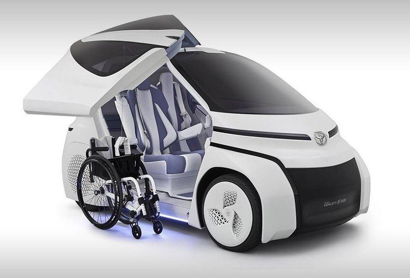 Toyota Concept-i Ride: Суперкар для людей с инвалидностью
