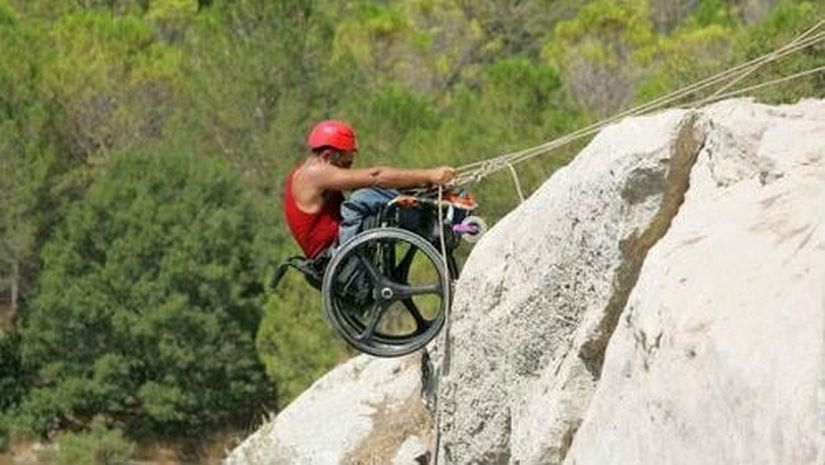 Люди с инвалидностью и экстрим