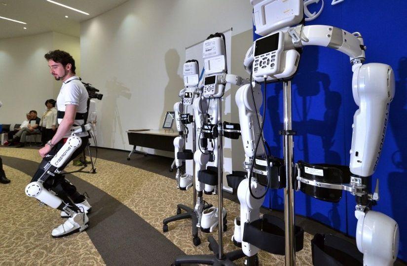 В США начались продажи медицинских экзоскелетов