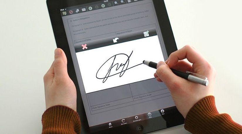 В Беларуси можно будет использовать цифровую рукописную подпись