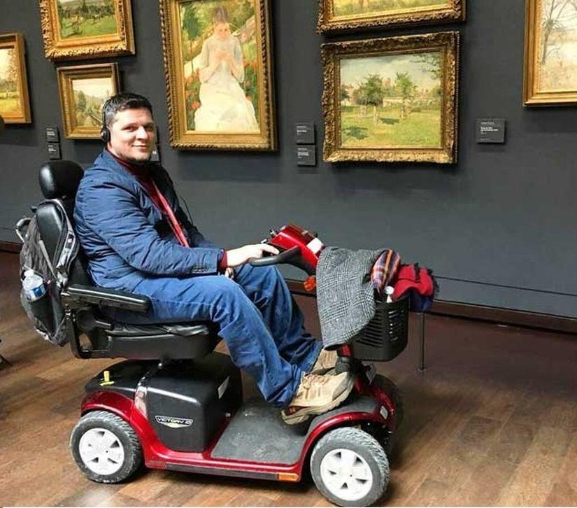 Спасенный в Израиле репатриант из Беларуси создал систему путешествий на инвалидных колясках
