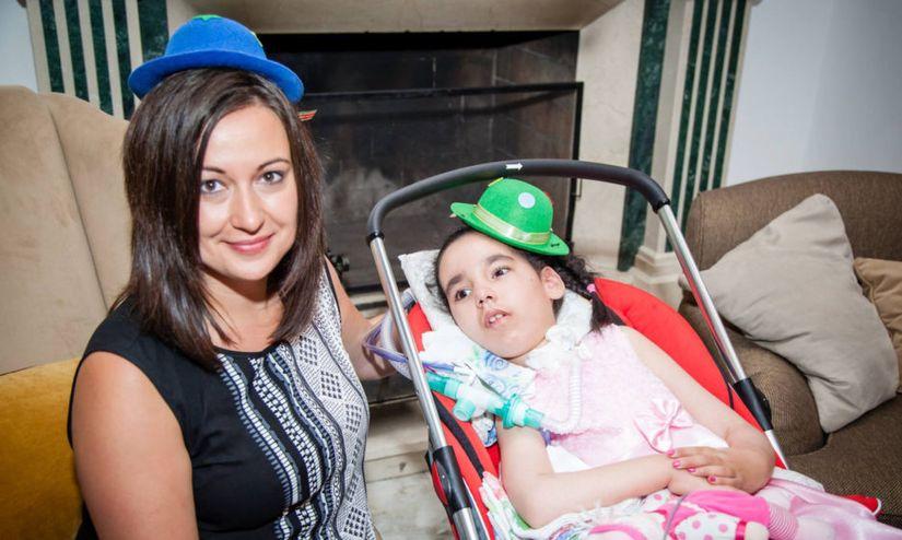 Ольга с дочерью Алиной