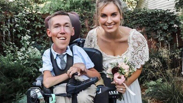 Девушка вышла замуж за инвалида со спинальной мышечной атрофией, но в Сети её считают лицемеркой