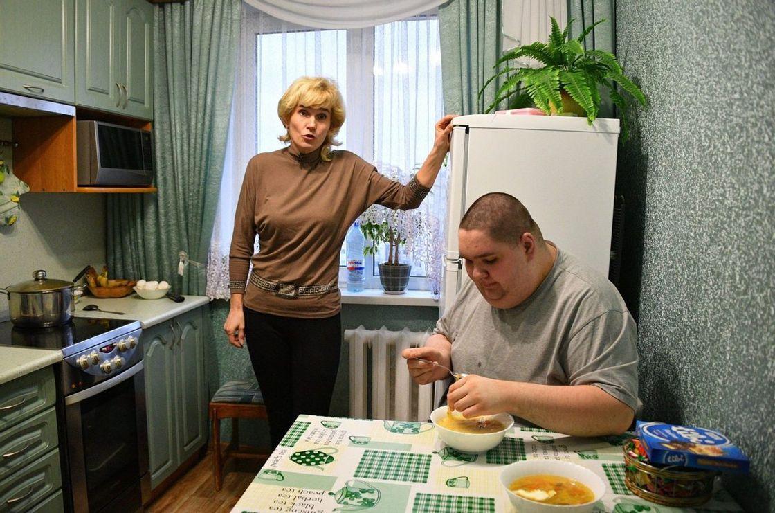 Младший сын Светланы Роман и до пандемии практически все время сидел дома