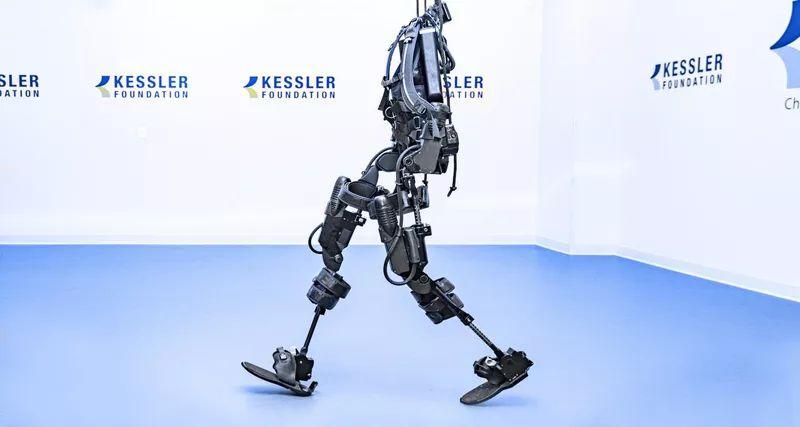 Для исследования использовались два типа экзоскелетов: Ekso GT (на картинке) и Rewalk
