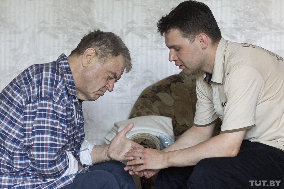 Тадеуш Казимирович Соколовский с сыном Веславом