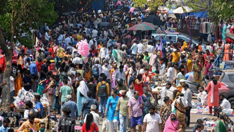 Численность и плотность населения Индии делают эту нацию очень уязвимой перед лицом эпидемий