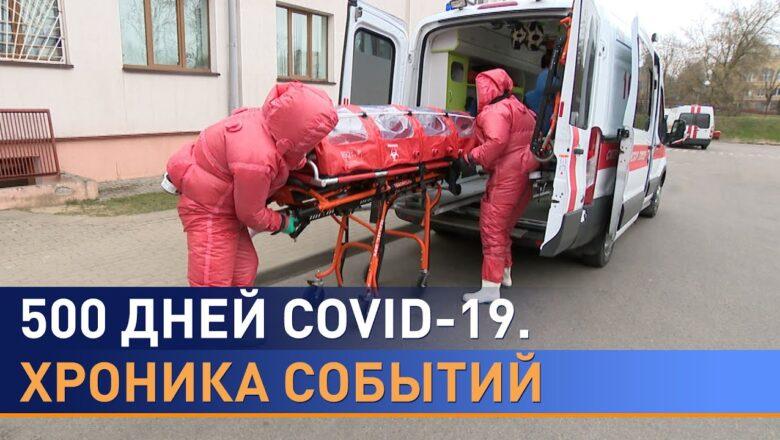 Хронология COVID-19 в Беларуси: путь длинною в 500 дней. Как это было?