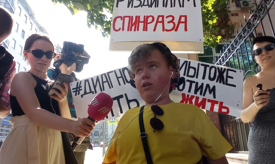 Даниил Максимов. Фото: Алена Корк / «Правмир»
