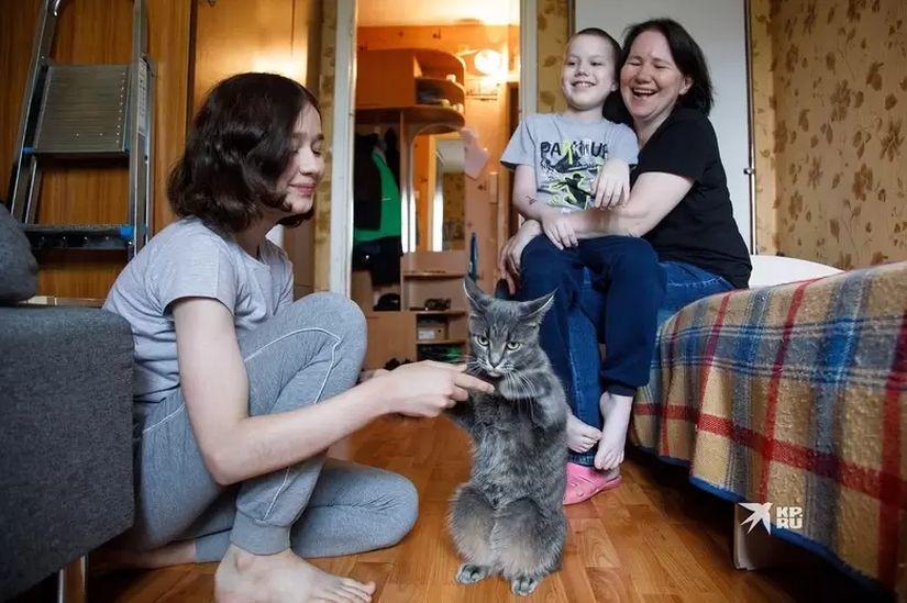 Несмотря на болезнь ребенка в семье стараются держаться на позитиве Фото: Марина Молдавская