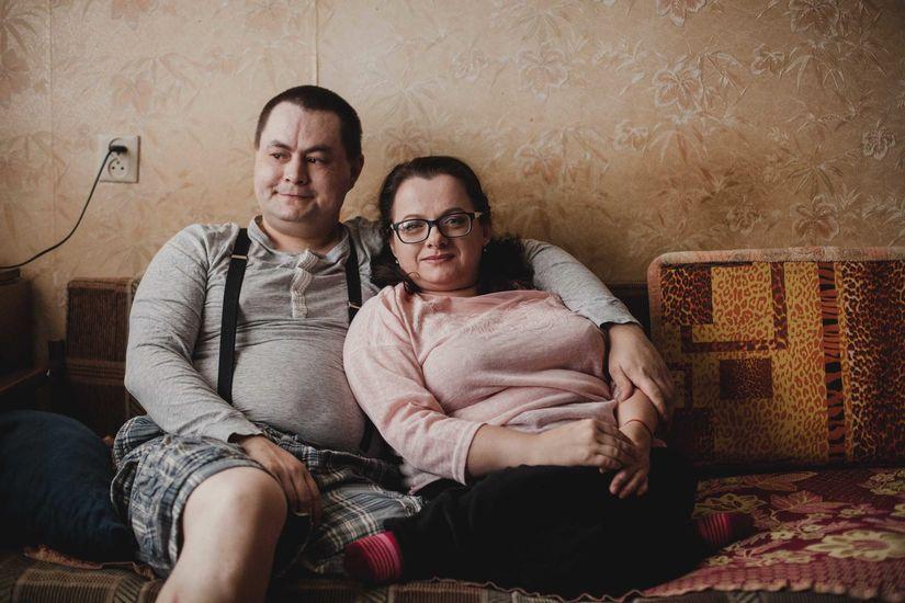 Варвара и Александр дома Фото: Юлия Карпенко для ИМЕН